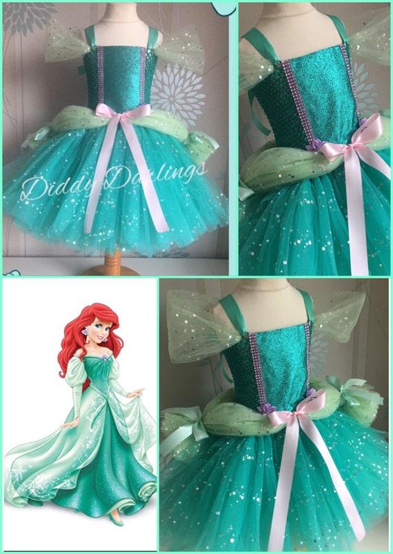 Ariel Ballgown Tutu Dress. Little Mermaid Tutu Dress.Inspired   Etsy