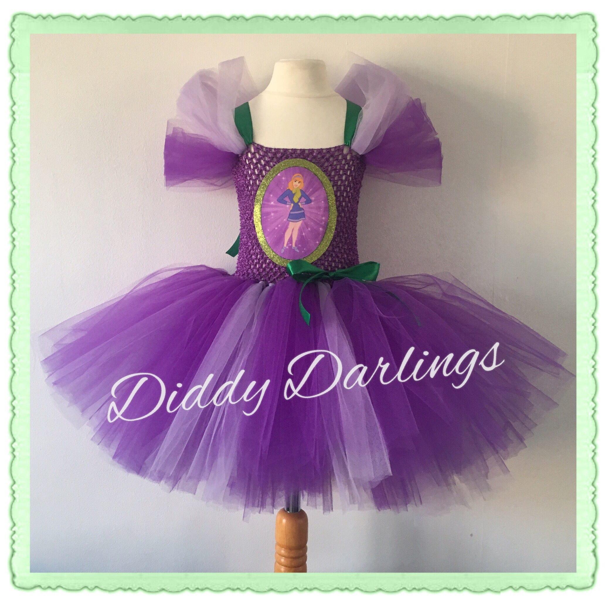 Vestido de Scooby Doo. Vestido de Daphne. Inspiración vestido