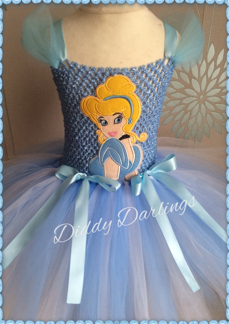 ed626b959 Vestido de Cenicienta Tutu vestido princesa inspirado vestido