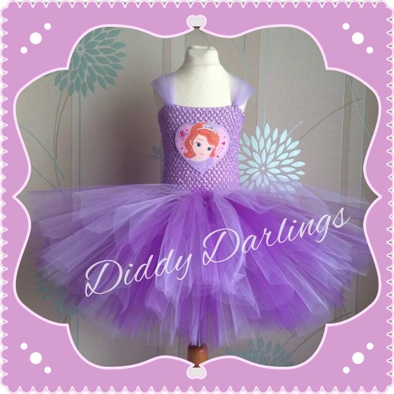 588faf210c Vestido de Sofía. Princesa Sofia la primera inspiración Tutu