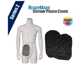 PouchWear ReadyMade Ostomy Pouch Cover | Series 2
