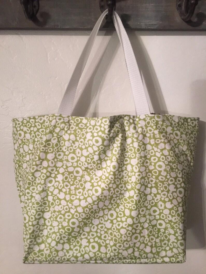 Reversible Shopping Bag Cotton Shopping Bag Shopping Tote Market bag Reusable Shopping Bag Book Bag Washable Grocery Bag Beach Bag