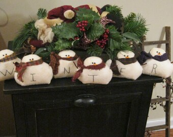 snowman shelf sitter winter snowmen snowman decoration winter decor snowman lover snowman collector whimsical snowmen seasonal decor
