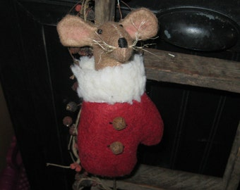 mouse in mitten christmas mouse ornie christmas ornament tree ornament peg hanger holiday decoration seasonal decor christmas decor - Christmas Mouse Myrtle Beach