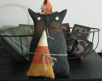 Halloween Decoration - Fall Decoration - Cat Decoration -Shelf Sitter - FAAP~HAFAIR~TEAMHAHA