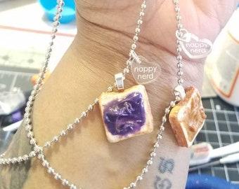 PB&J BFF necklaces