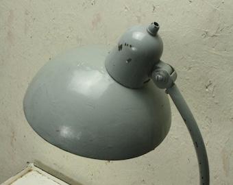 Vintage industrial even Bau Haus desk light