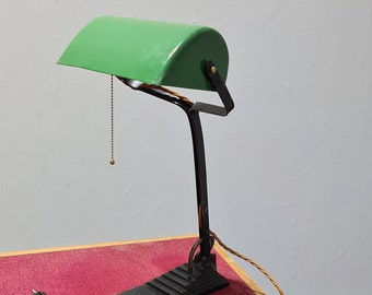 Vintage Bauhaus desk lamp by Erpe Belgium