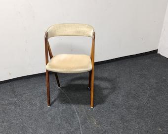 Vintage teak compass chair