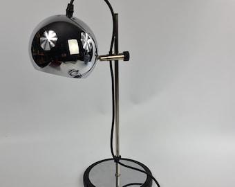 Vintage chrome desk or table light