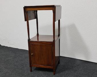 Vintage  wooden folding side table