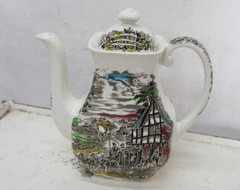Wedgwood Dickens coaching days coffee can