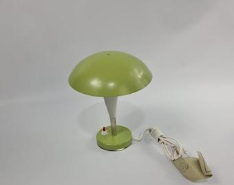 Vintage new old stock Polish Mushroom lamp
