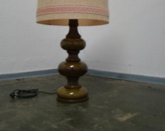 Smart vintage 70s ceramic table lamp