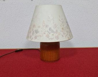Vintage Danish design table lamp by Kirk