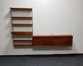 Vintage Nisse Strinning wall unit