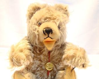 Vintage Hermann Zotty growling Bear