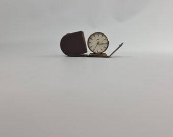 Vintage Emes traveling alarm clock .