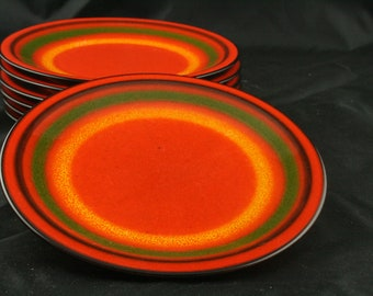 A set of 7 vintage plates by Fürstenburg