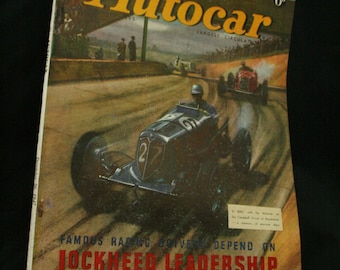 vintage the Autocar car magazine december 26 1947