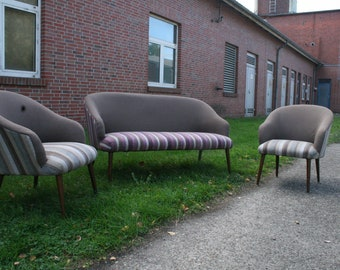 50s sofa and fauteuils