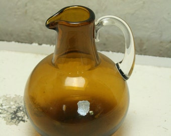 Vintage Afors Swedish glass jugg
