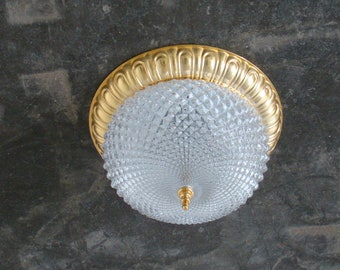 Vintage plafonnier , celing lamp by Solken lighting