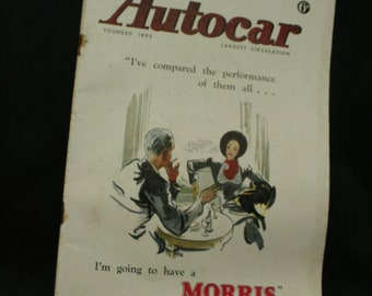 vintage the Autocar car magazine march 21 1947