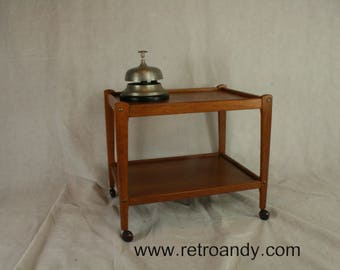 Vintage teak tea trolley  or serving trolley