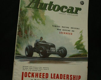 vintage the Autocar car magazine july 25 1947