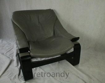 Vintage fauteuil ontwerp door Ake Fribytter voor Nelo mobel