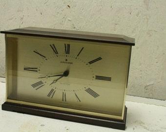 60s german mantel clock by Junghaans
