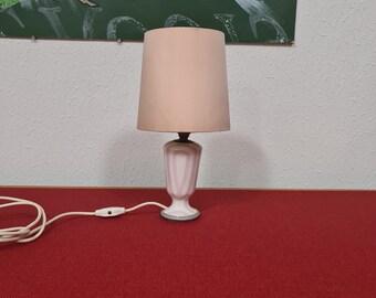 Vintage porcelain de Paris table light