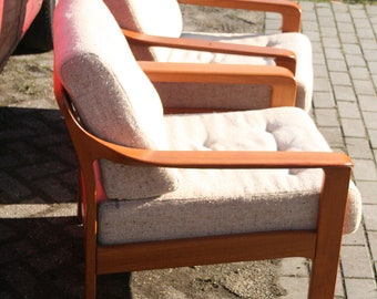 Danish design teak Fauteuils