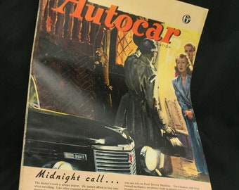 vintage the Autocar car magazine Febuary 13  1948