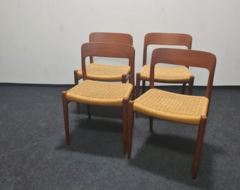 Vintage Danish Design dining chairs [4] by Niels Otto Moller