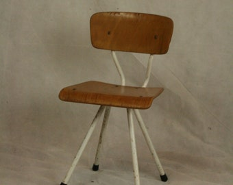 Vintage French childs stool