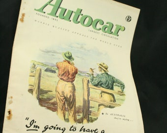 vintage the Autocar car magazine feb 6 1948
