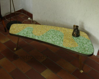 50s kidney table