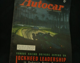 vintage the Autocar car magazine sept 19 1947