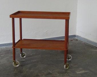 Vintage  tea trolley by Soborg Mobler Denmark