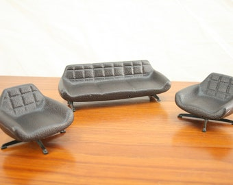 Vintage DDR dolls furniture sofa set