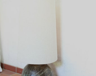 Vintage studio ceramic floor lamp by Tina and Thorsten Behrendt Worpswede