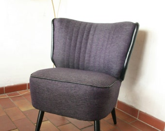 50s cocktailchair fautil lounge chair