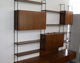 Vintage shelving by Omnia Germany