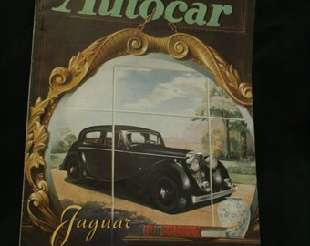 vintage the Autocar car magazine october 24  1947