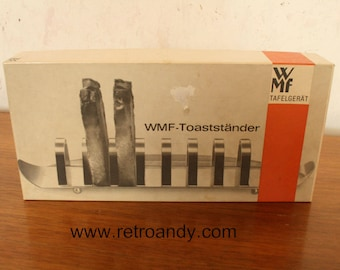 Vintage silver plated toast rack by WMF Germany