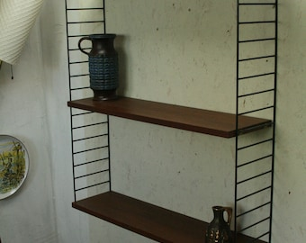 Vintage shelving by Nisse Strinning