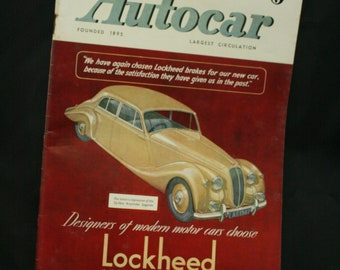 vintage the Autocar car magazine march 7 1947