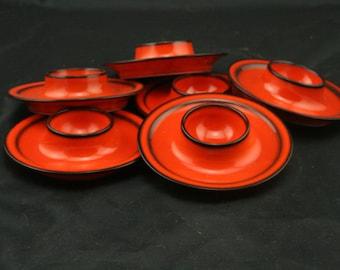 Vintage Fürstenburg egg cups [6]